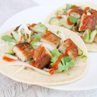 Teriyaki Tofu Tacos