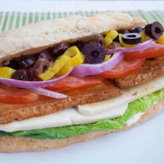 Vegan Submarine Sandwich
