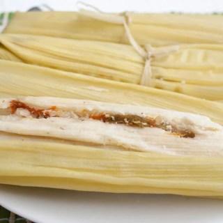 Vegan Green Corn Tamales (Tamales de Elote)