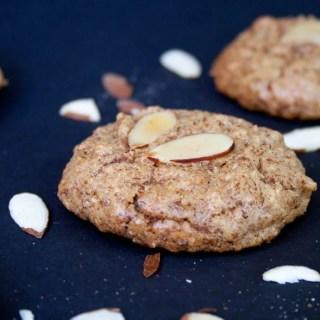 Low Carb Vegan Almond Cookies