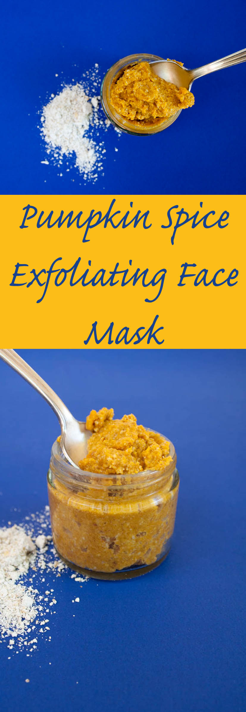 Pumpkin Spice Exfoliating Face Mask (vegan, gluten free) - This mask is a perfect way to use up that last tablespoon (or more) of pumpkin puree.