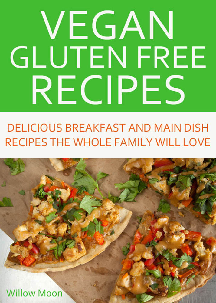 My New Vegan Gluten Free Recipe eBook is Here! Vegan Gluten Free Recipes: Delicious Breakfast and Main Dish Recipes the Whole Family Will Love is filled with easy recipes to get you started on eating more plant-based foods.