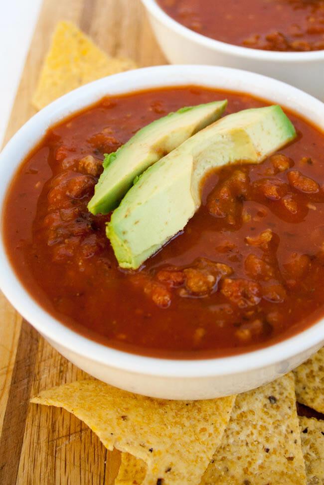3 Ingredient Vegan Chili