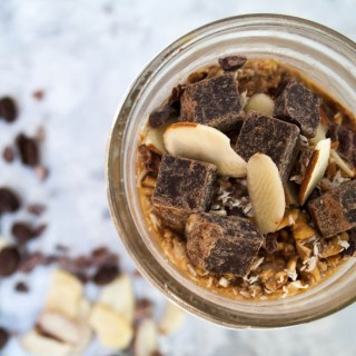 Mocha Almond Overnight Oats