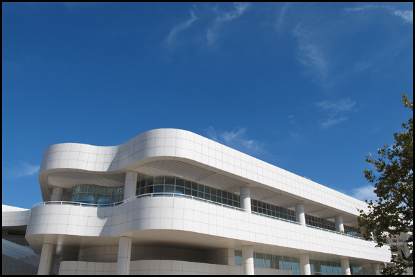 Getty Museum Architecture