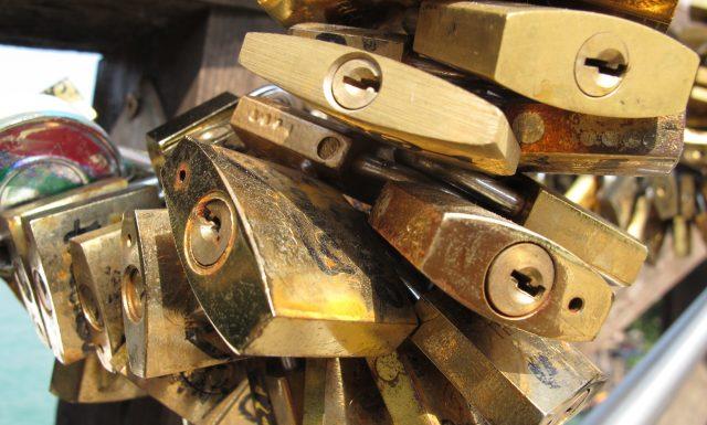 Venice - Cluster of Love Locks