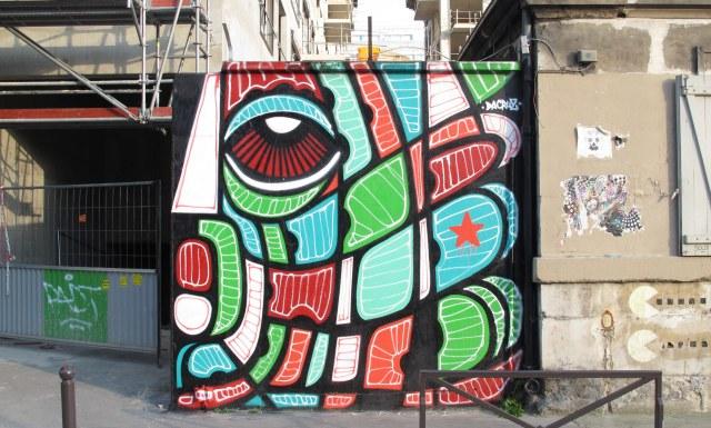 Paris Street Art - Abstract