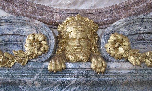 Versailles - Gold Gods Sculpture