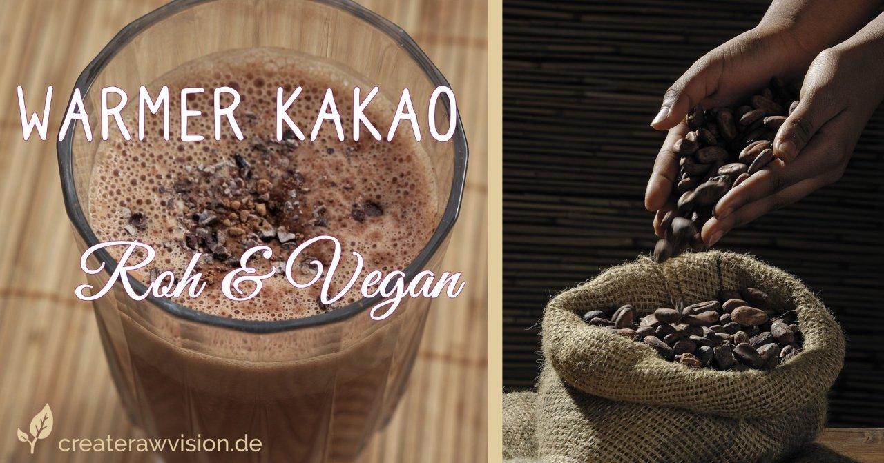 Glas Kakao Roh & Vegan