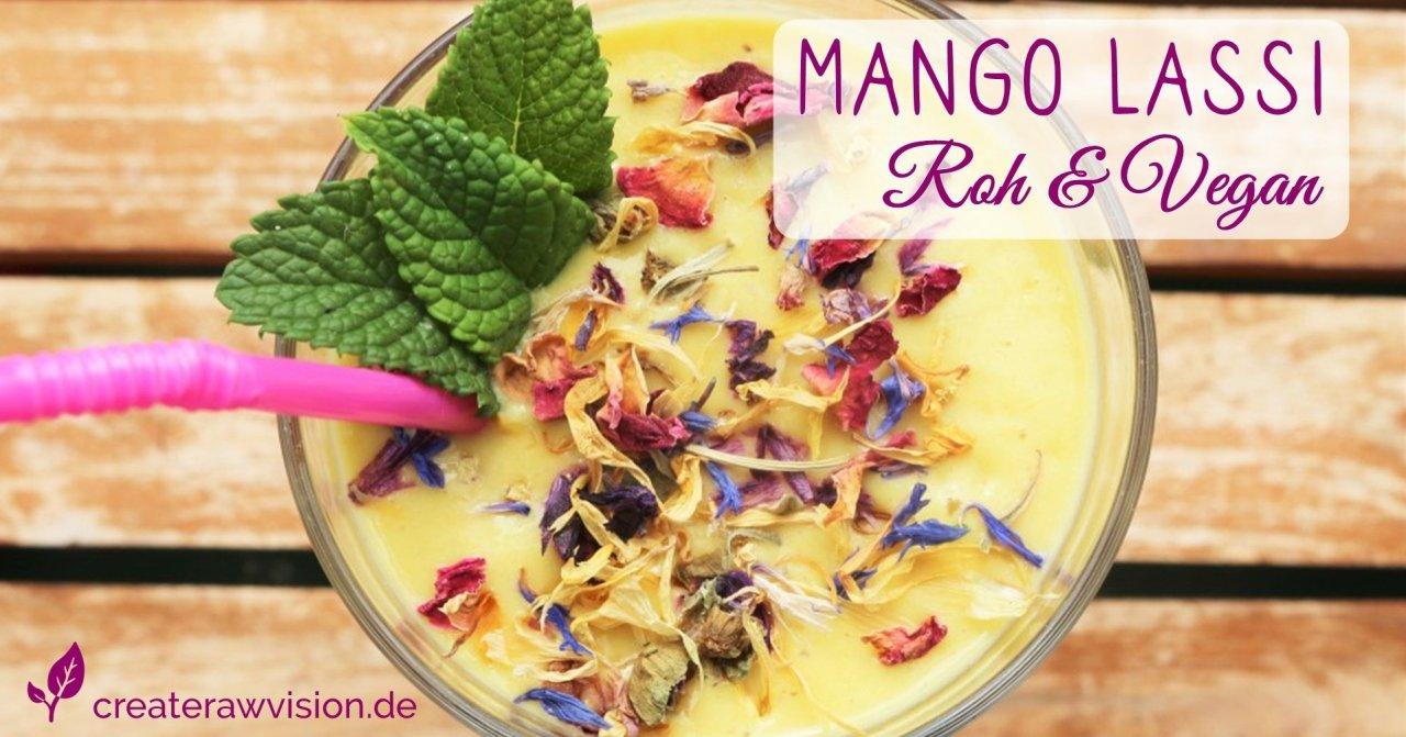 Mango Llassi Roh & Vegan