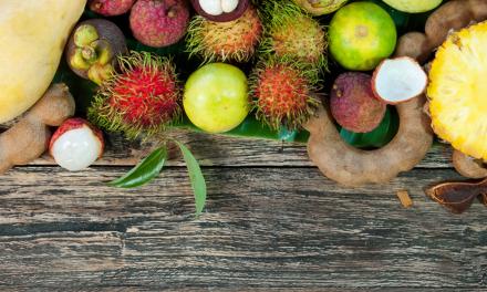Dort wo es fantastische Tropenfrüchte und Kokosnüsse gibt