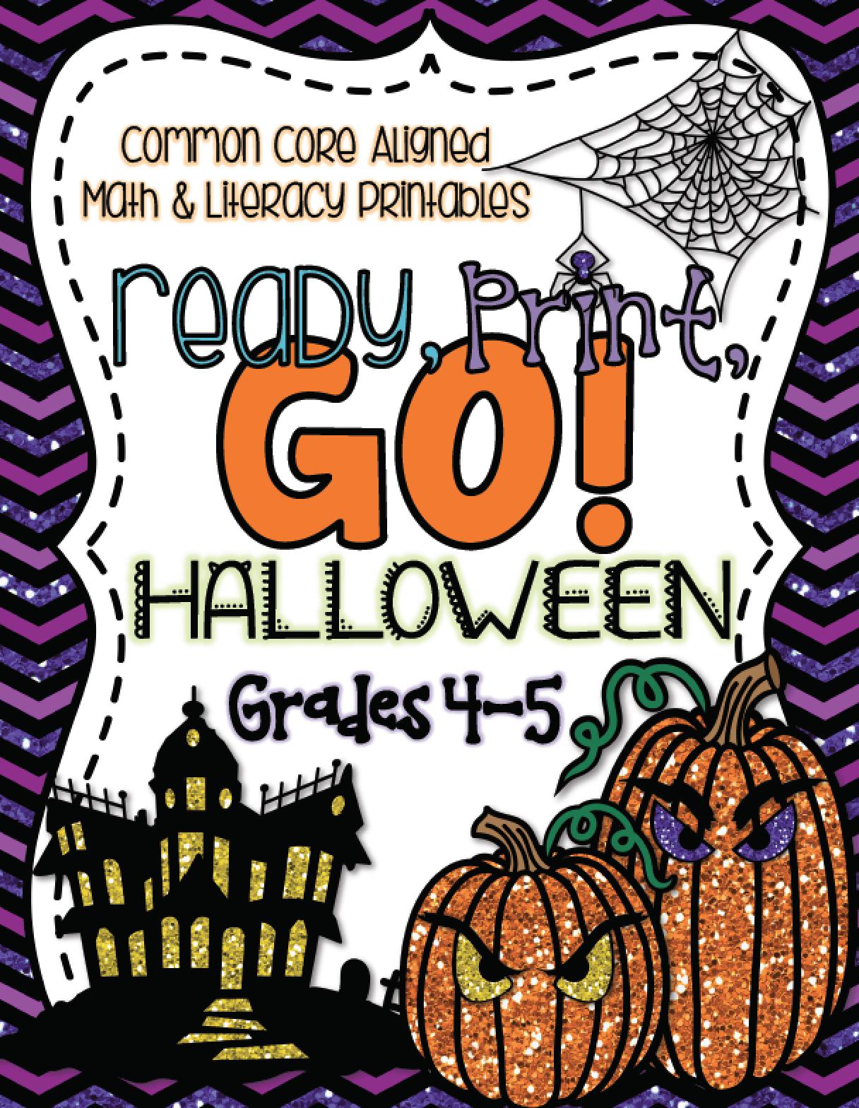 Ready Print Go Halloween Edition