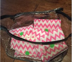 Hope In A Suitcase Vinyl Toiletry Bag Example