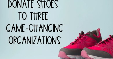 Donate shoes to help people in need