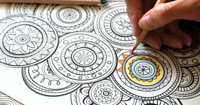 Coloring pages to spark your creativity
