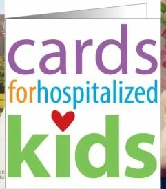 Handmade cards for hospitalized kids logo