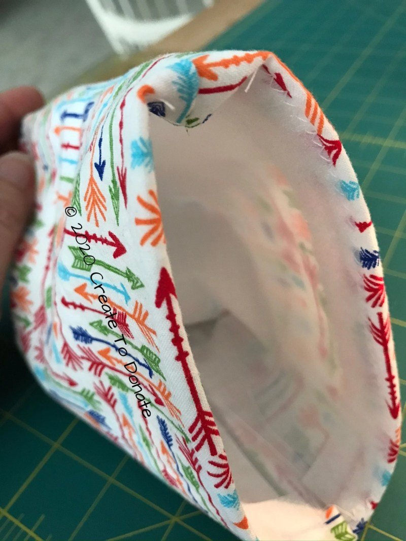 Complete the reusable snack bag