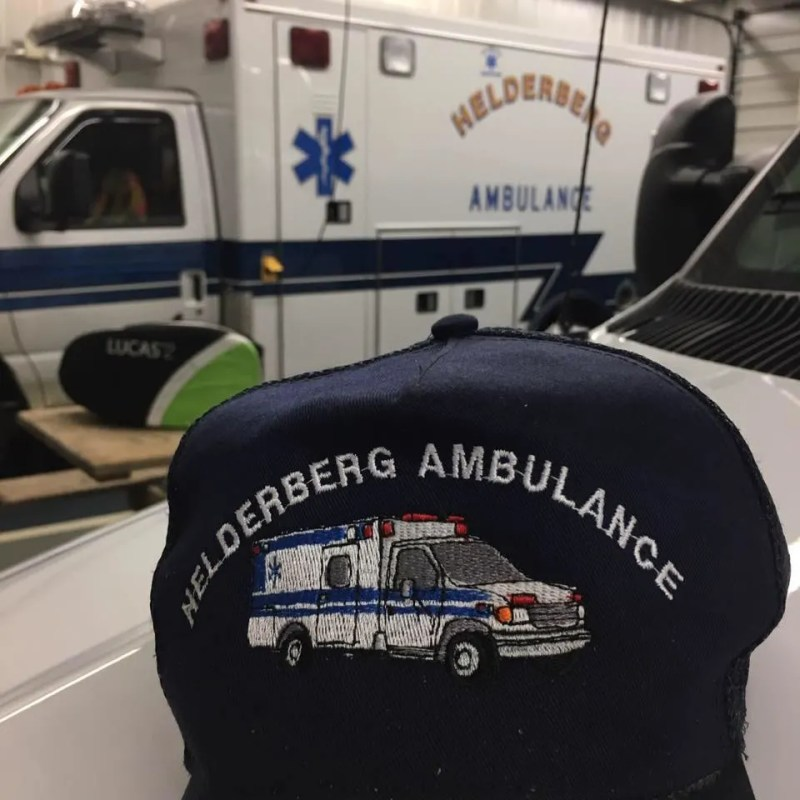 Helderberg Ambulance Squad needs mask donations to help their small, rural community.