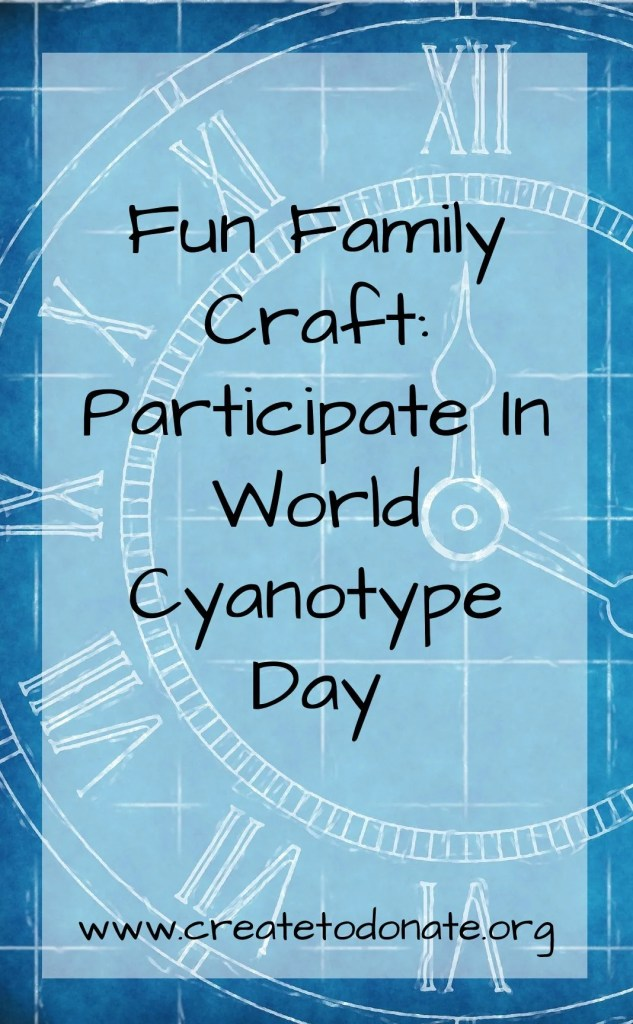 Family-friendly crafts: Participate in World Cyanotype Day PINME