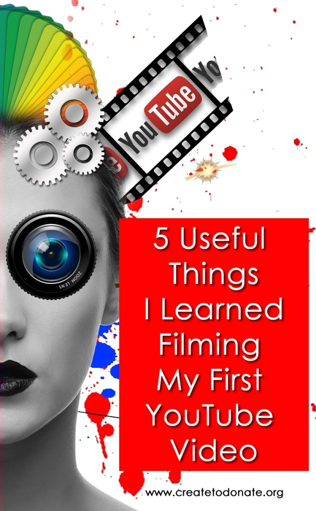 Tips on filming your first YouTube video