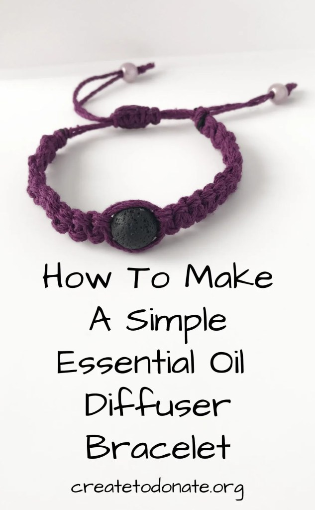 DIY essential oil diffuser bracelet PIN