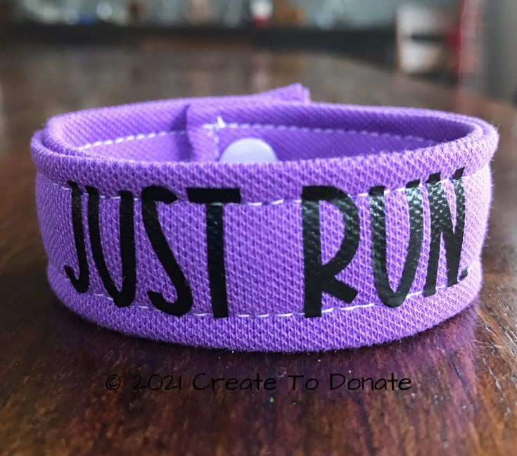 DIY fitness motivation bracelet for women by Create To Donate