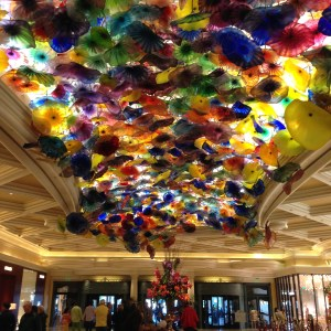 Inspiration nature Chihuly - photo Julia Braga- Plafond Bellagio Las Vegas 2016