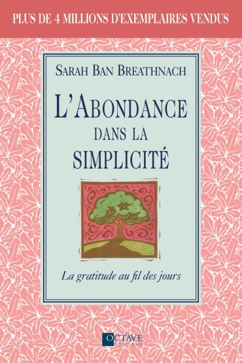 Couverture livre L'abondance dans la simplicité
