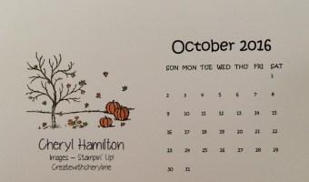 Happy Scenes for October