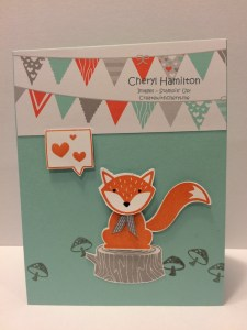 Foxy Friends Createwithcheryl.me