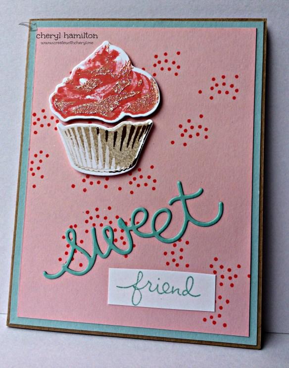Createwithcheryl Sweet Cupcake 2
