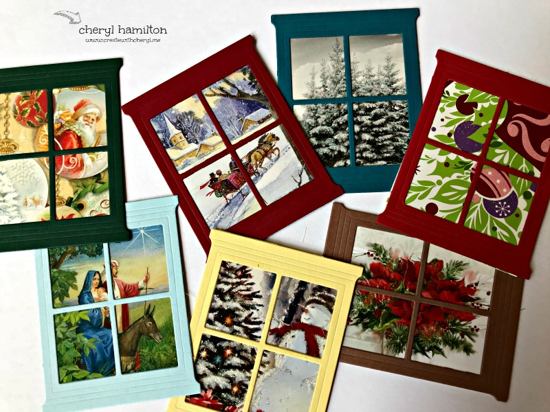 Recycling archives create with cherylcreate with cheryl these are some of my old christmas cards framed using hearth home thinlits you can purchase the thinlits for just 20 and do the same m4hsunfo