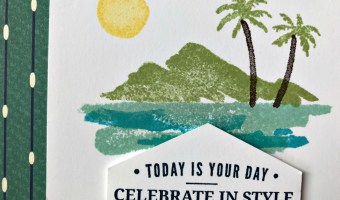 Waterfront Masculine Card