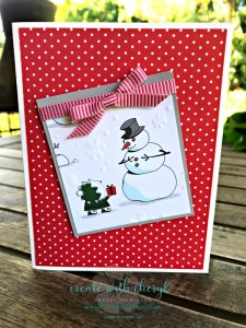 Santa's Workshop DSP #SSINKCS54 #createwithcheryl #stampinup #christmascards
