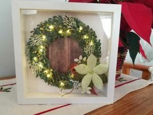 Light Up Wreath! #createwithcheryl #stampinup #thecraftyoinkpen #homedecor