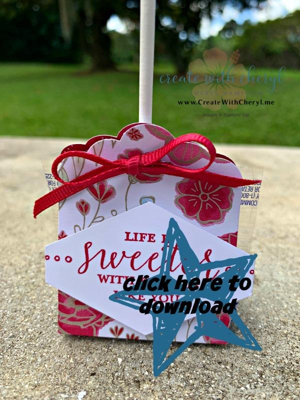 Lollipop Treat Tutorial #createwithcheryl
