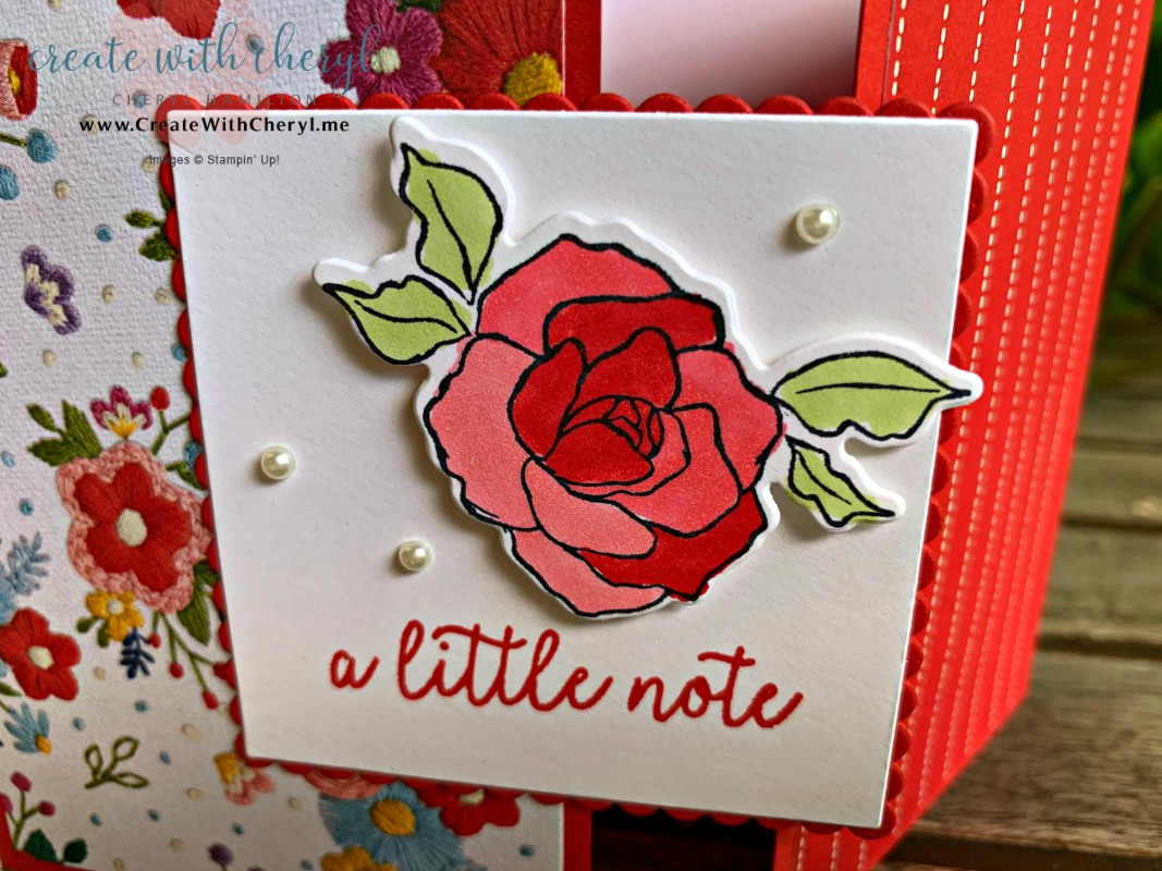 Gate Fold Card #createwithcheryl #diycards #stampinup #fusioncardchallenge
