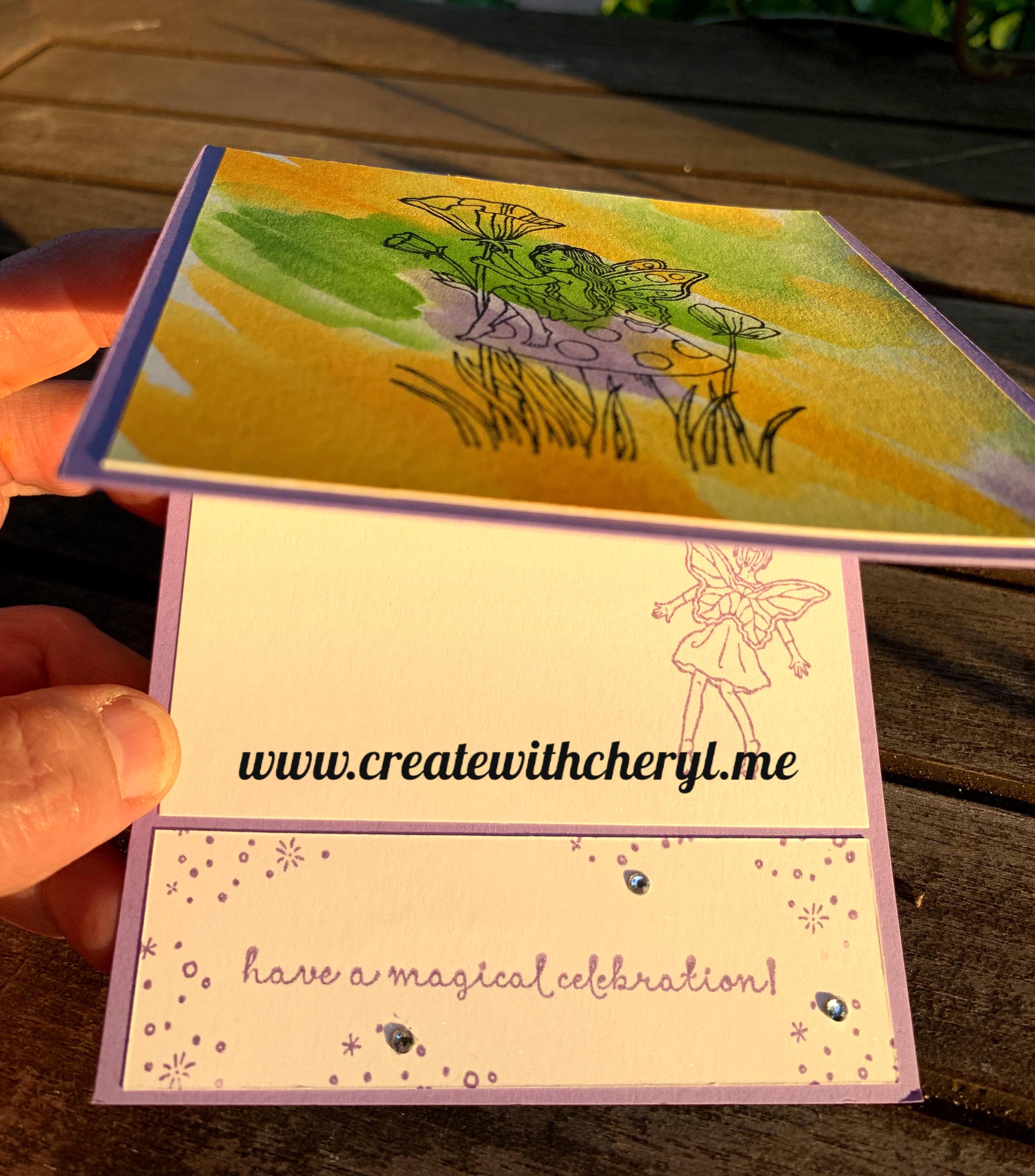 #Kre8torsbloghop #fairycelebration #createwithcheryl #colorchallenge
