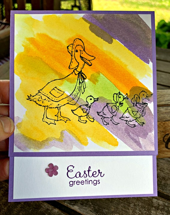 Fable Friends Card #createwithcheryl #eastercard #diycards #fablefriends