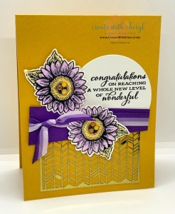 Celebrate Sunflowers Card Cheryl Hamilton