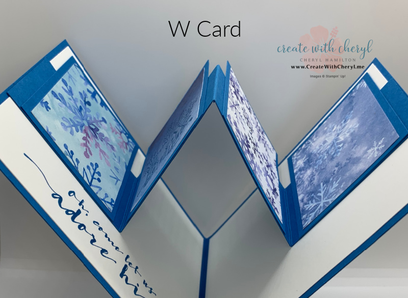 Snowflake Splendor W Card