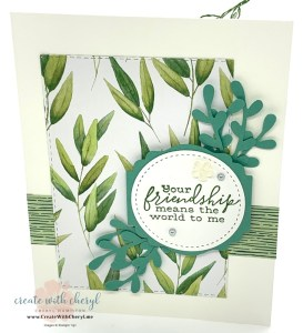 Forever Greenery Friendship Card