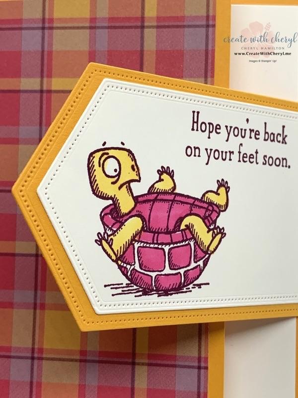 Back on Your Feet Fun Fold Card