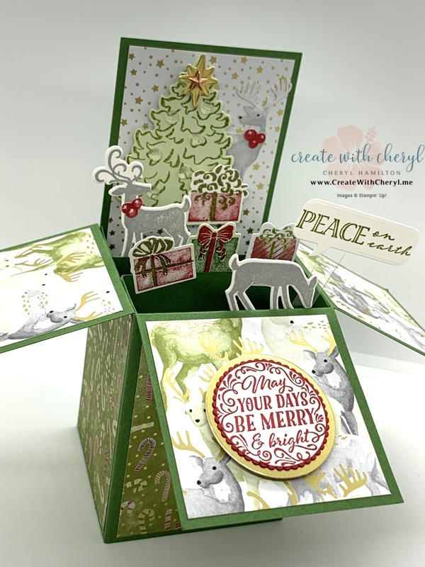 Most Wonderful Time Card in a Box