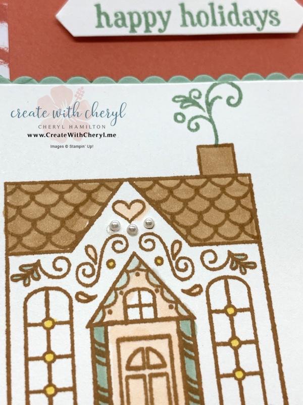 Jolly Gingerbread Nov 2020 Paper Pumpkin Card