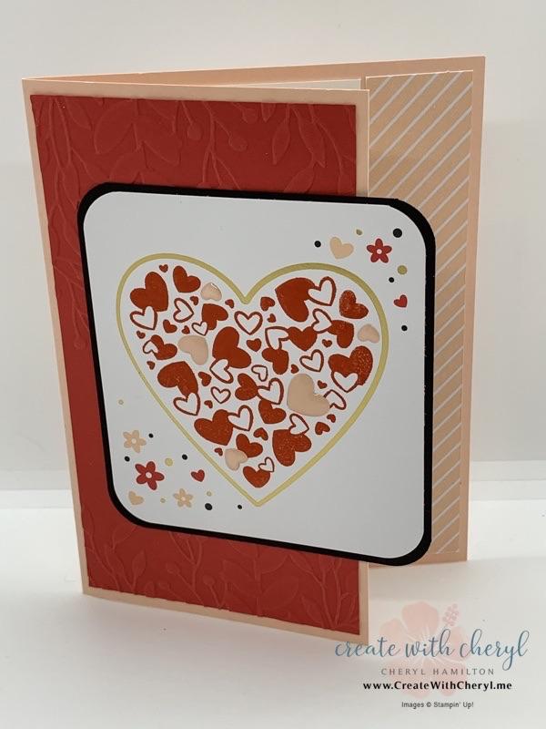 Paper Pumpkin Sending Hearts #paperpumpkin