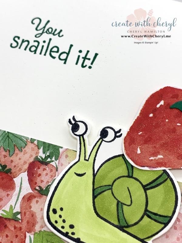 Snailed It Card #cherylhamilton