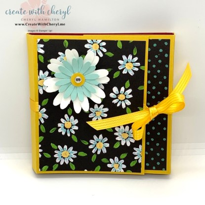 Flower & Field Mini Album #cherylhamilton