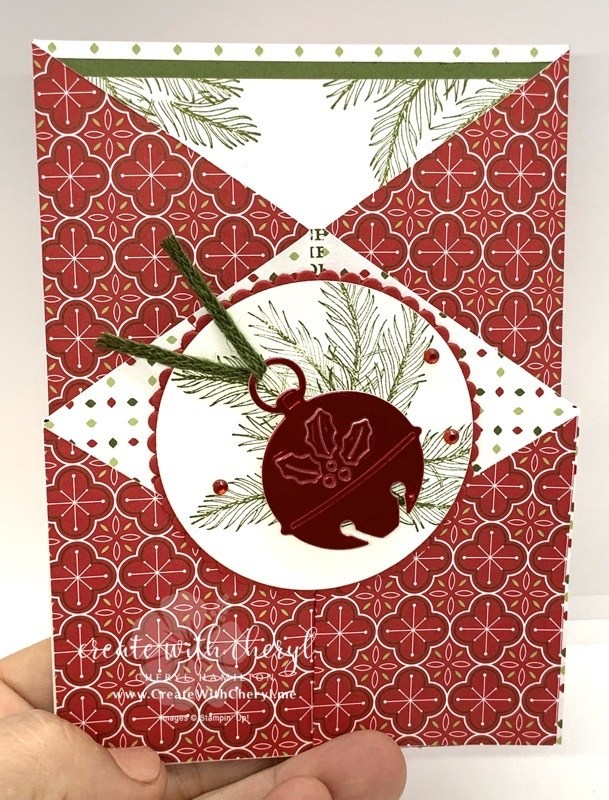 Cherish the Season Double Gate Fold Card #cherylhamilton