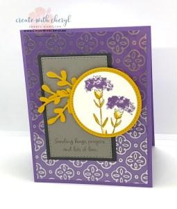Inspiring Iris Card #cherylhamilton